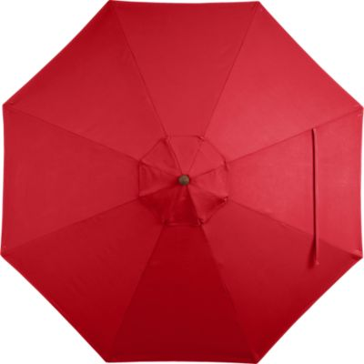 9 Round Sunbrella® Chili Pepper Umbrella Cover