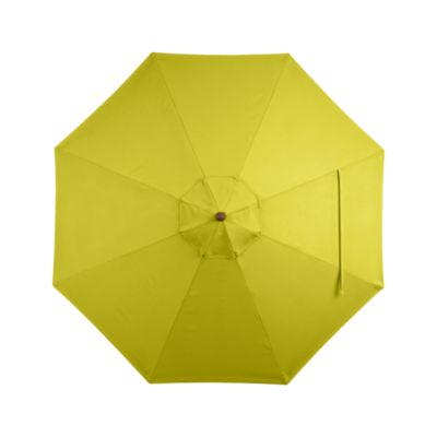 9 Round Sunbrella® Sulfur Umbrella Cover
