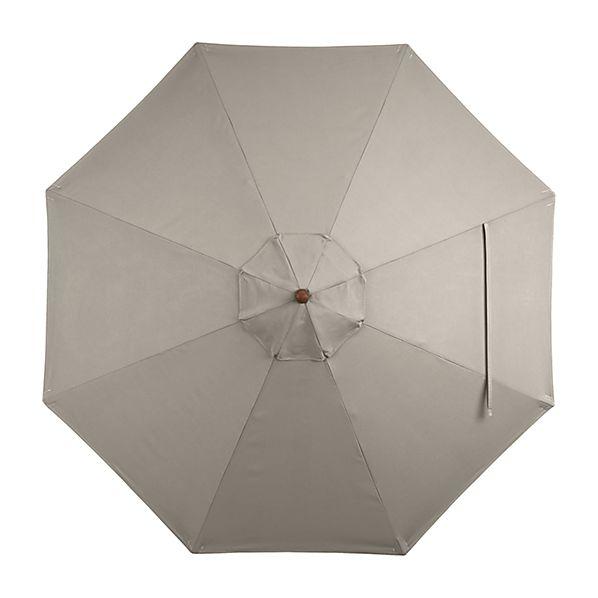 9' Round Sunbrella ® Stone Umbrella Canopy
