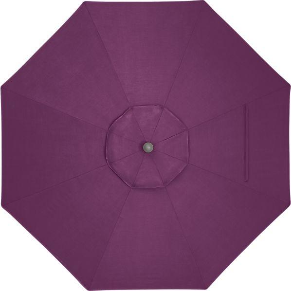 9' Round Sunbrella ® Phlox Umbrella Cover