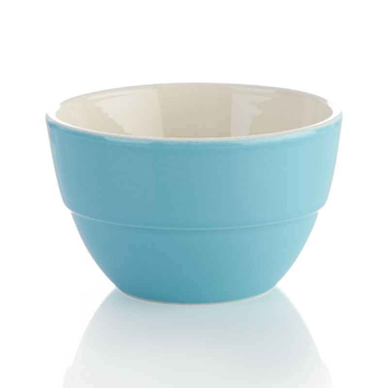 From Portugal, these mini counterparts to our earthenware Market Bowls handle all your mixing, prep and serving needs.<br /><br /><NEWTAG/><ul><li>Designed by Carlos Serralha</li><li>High-fired earthenware</li><li>Food safe</li><li>Dishwasher- and microwave-safe</li><li>Not oven-safe</li><li>Made in Portugal</li></ul>