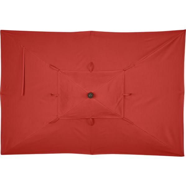 Rectangular Sunbrella ® Caliente Umbrella Cover