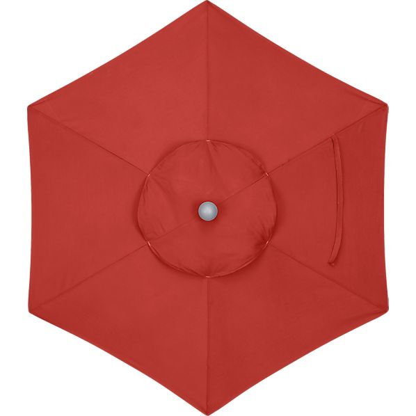 6' Round Sunbrella ® Caliente Umbrella Cover