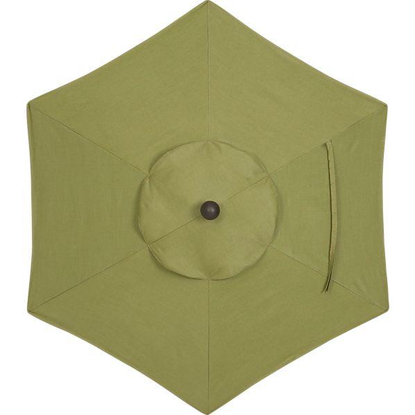 6' Round Sunbrella ® Fern Umbrella Cover