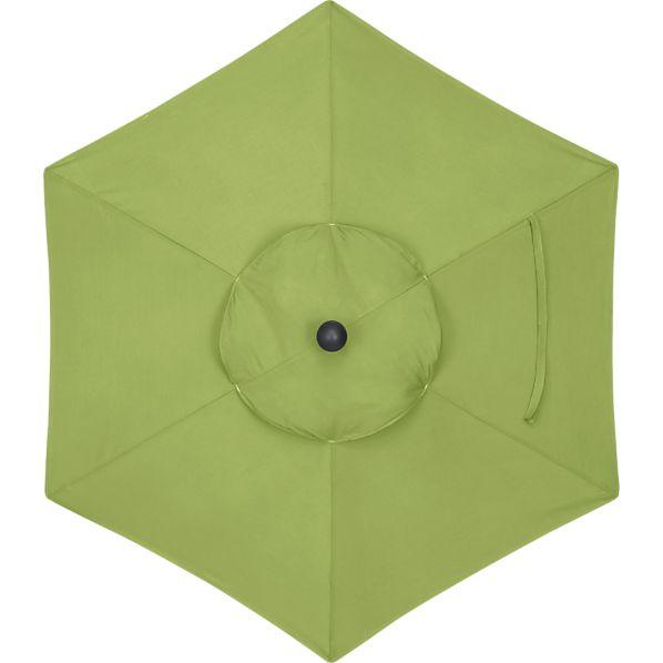 6' Round Sunbrella ® Kiwi Umbrella Cover