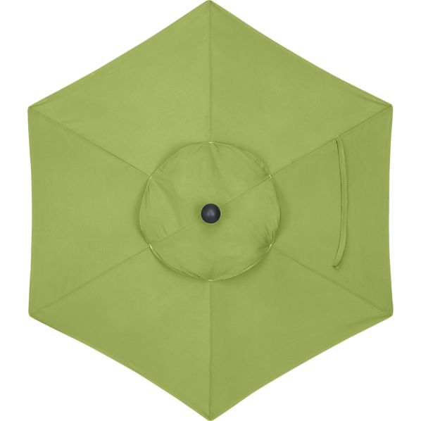 6' Round Sunbrella ® Kiwi Umbrella Cover