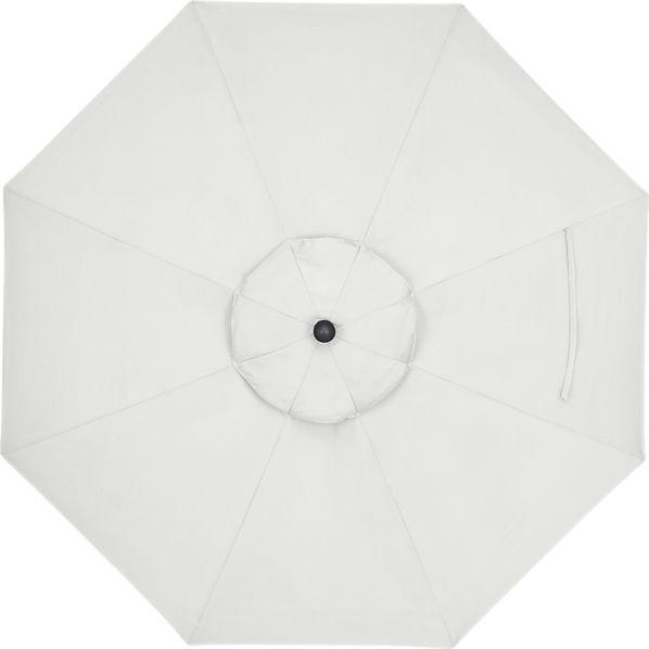 9' Round Sunbrella ® Eggshell Umbrella Cover