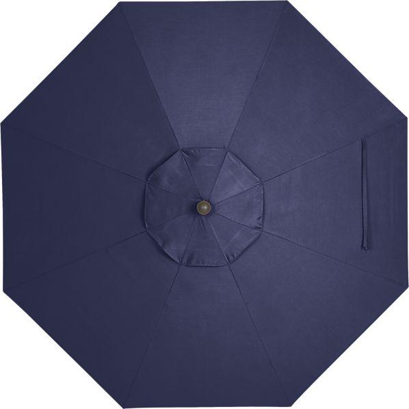 9' Round Sunbrella ® Indigo Umbrella Cover
