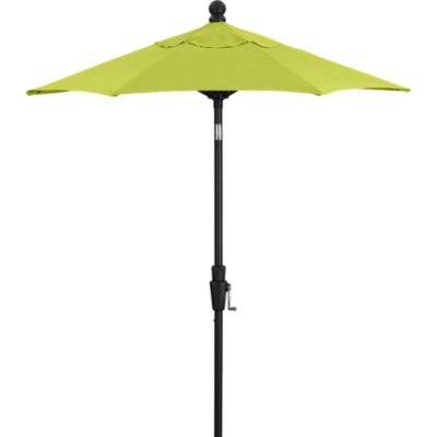6 Round Sunbrella® Apple High Dining Umbrella with Black Frame