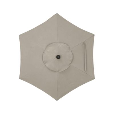 6 Round Sunbrella® Stone Umbrella Cover