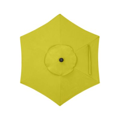 6' Round Sunbrella® Sulfur Umbrella Cover