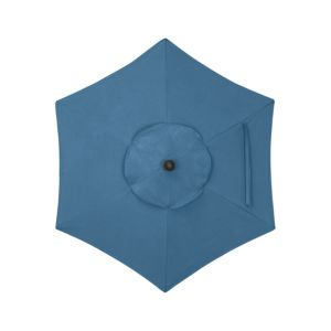6' Round Sunbrella® Turkish Tile Umbrella Cover