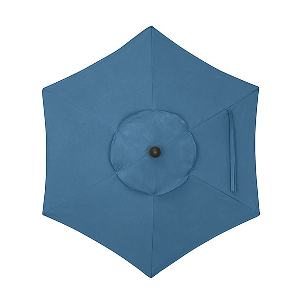 6' Round Sunbrella ® Turkish Tile Umbrella Canopy