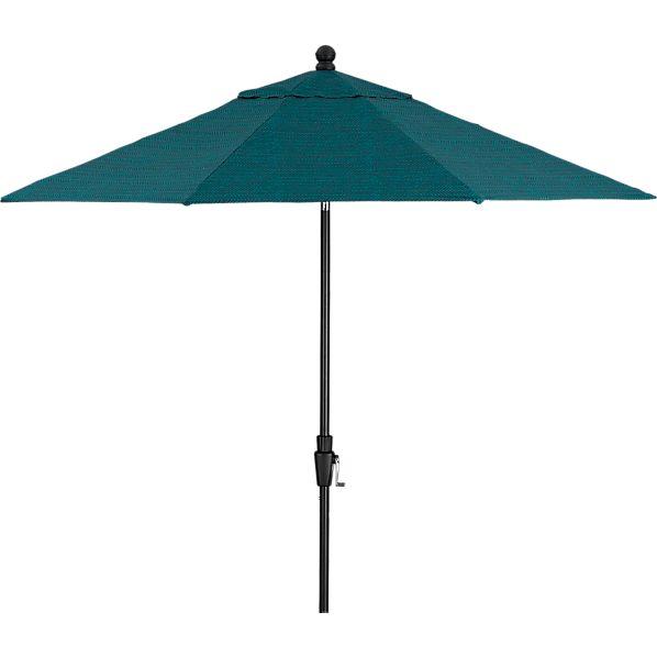 9' Round Juniper Umbrella with Black Frame