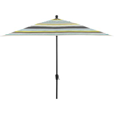 Rectangular Arroyo Umbrella with Black Frame