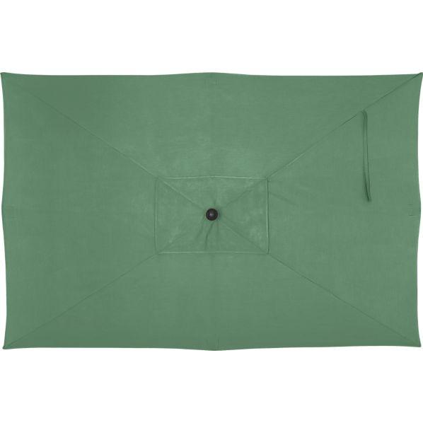 Rectangular Sunbrella ® Bottle Green Umbrella Cover