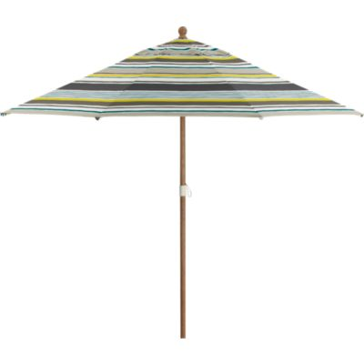 9 Round Arroyo Umbrella with Eucalyptus Frame