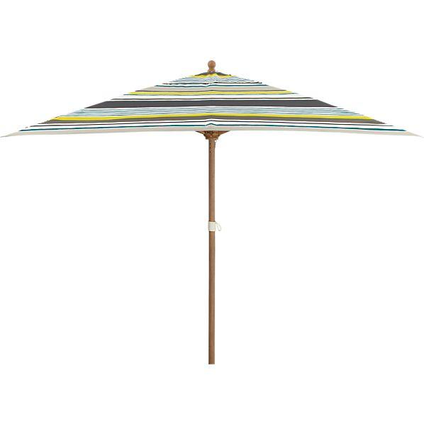 Rectangular Arroyo Umbrella with Eucalyptus Frame