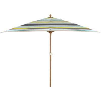 Rectangular Arroyo Umbrella with Eucalyptus Frame