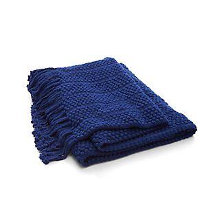 Marley Blue Throw