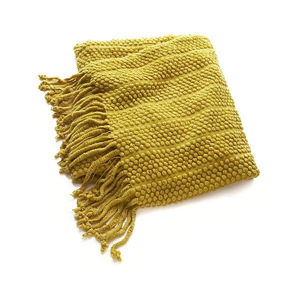 Marley Yellow Throw