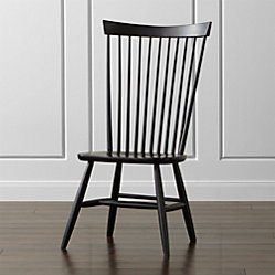 marlow ii dove wood dining chair crate and barrel. Black Bedroom Furniture Sets. Home Design Ideas