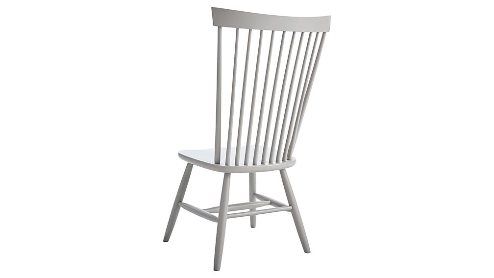 Marlow II Dove Wood Dining Chair
