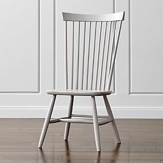 Marlow II Dove Wood Dining Chair