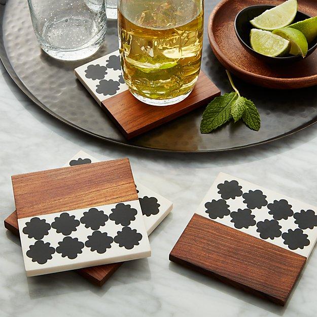 Marrakesh Coasters Set of Four