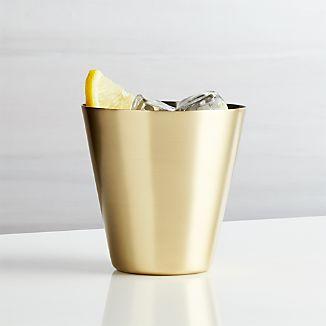Martin Gold Cocktail Glass