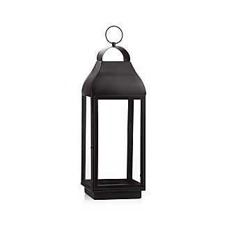 Martina Large Bronze Metal Lantern
