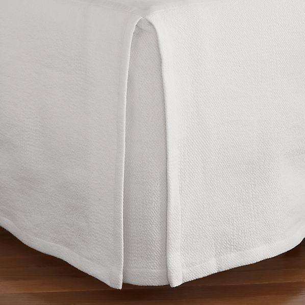 Matelasse Full Bed Skirt