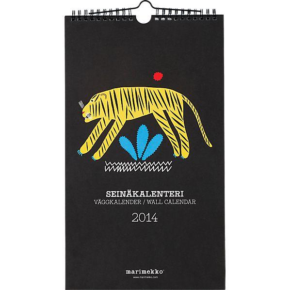 Matkoilla 2014 Wall Calendar