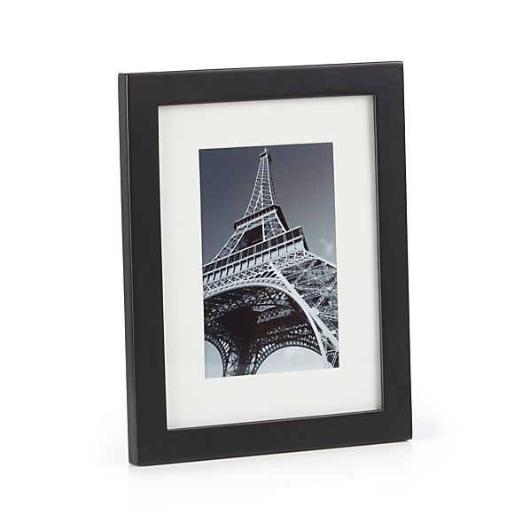 Matte Black 4x6 Picture Frame