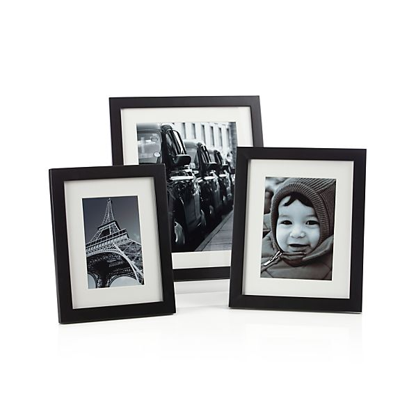 Matte Black Picture Frames