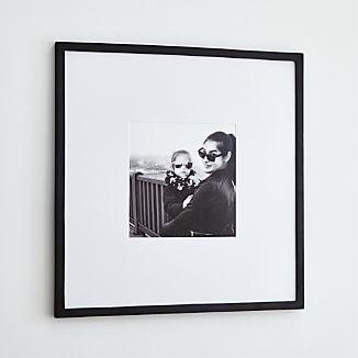 Matte Black 11x11 Wall Frame