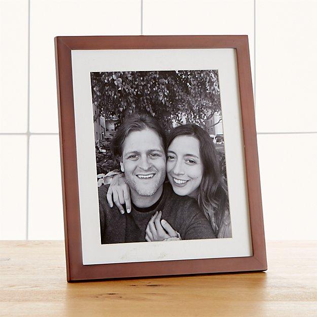 Matte Brown 8x10 Frame