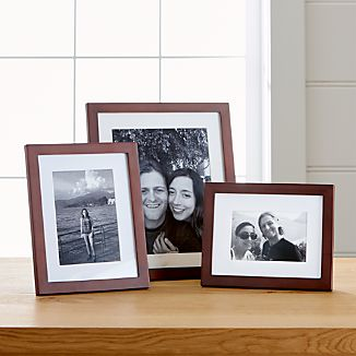 Matte Brown Picture Frames