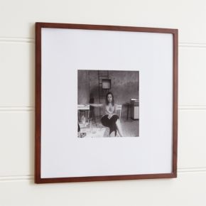 Matte Brown 11x11 Wall Frame