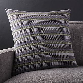 "Matty 20"" Striped Pillow"