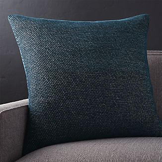 "Maura Midnight Blue 23"" Pillow"