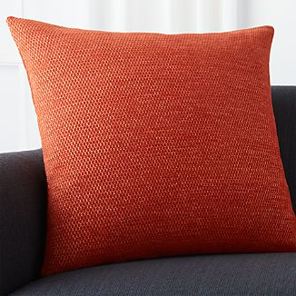 "Maura Orange 23"" Pillow"