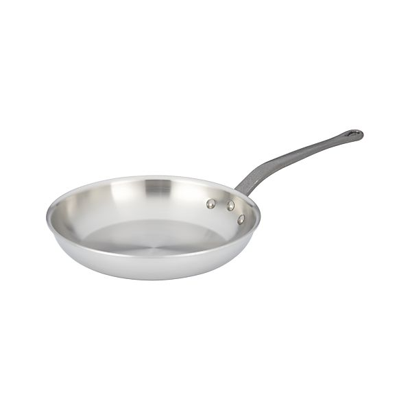 "Mauviel M'cook Stainless-Steel 10.25"" Fry Pan"