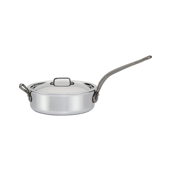 Mauviel M'cook Stainless-Steel 5.8-qt. Saute Pan