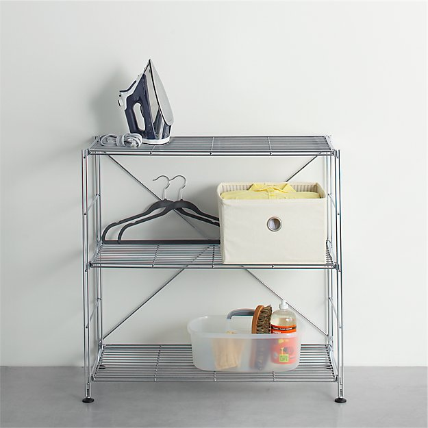 MAX Chrome 3-Shelf Unit