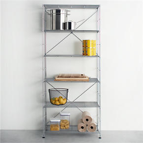 MAX Chrome Six-Shelf Unit - MAX Chrome...