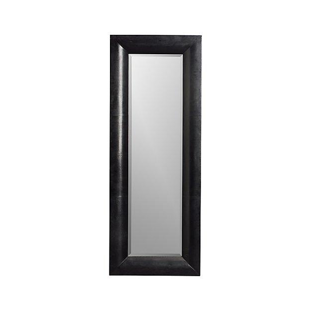 Maxx Black Floor Mirror