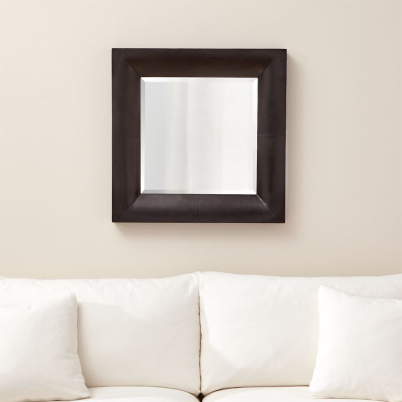 Maxx Black Wall Mirror