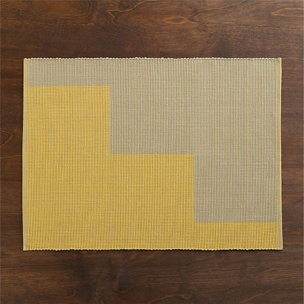 Maya Yellow Placemat
