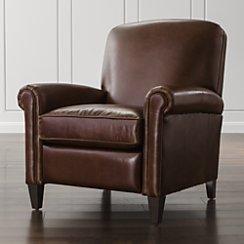 McAllister Balmoral Gordon Leather Recliner